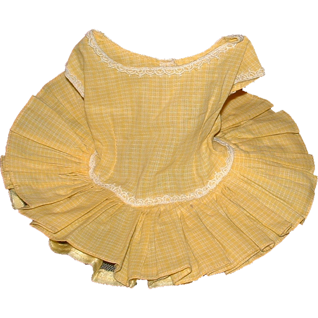 Vintage Tagged Terri Lee Dress