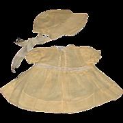 Vintage 1940's Alexander Original Dionne Dress & Bonnet Set!