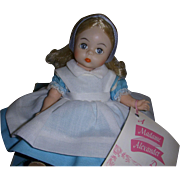 "Madame Alexander ""Alice"" Disney 1975 Doll MIB!"