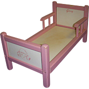 Vintage 1950s Vogue Ginny Doll Bed!