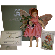 MIB R. John Wright Red Clover Fairy Doll from the Flower Fairies Series!