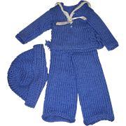 Vintage Mary Hoyer Boy Sailor Outfit!