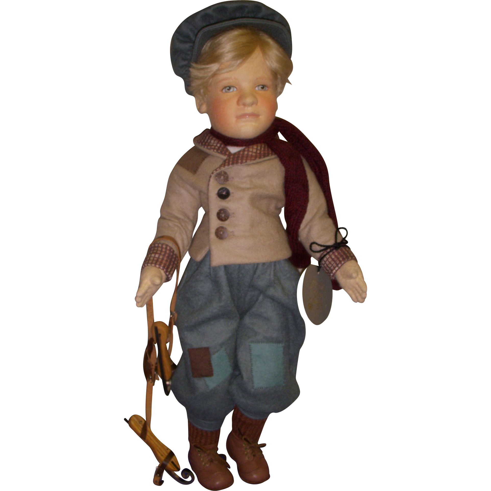 "MIB R. John Wright ""Hans Brinker"" from the Storybook Doll Series!"