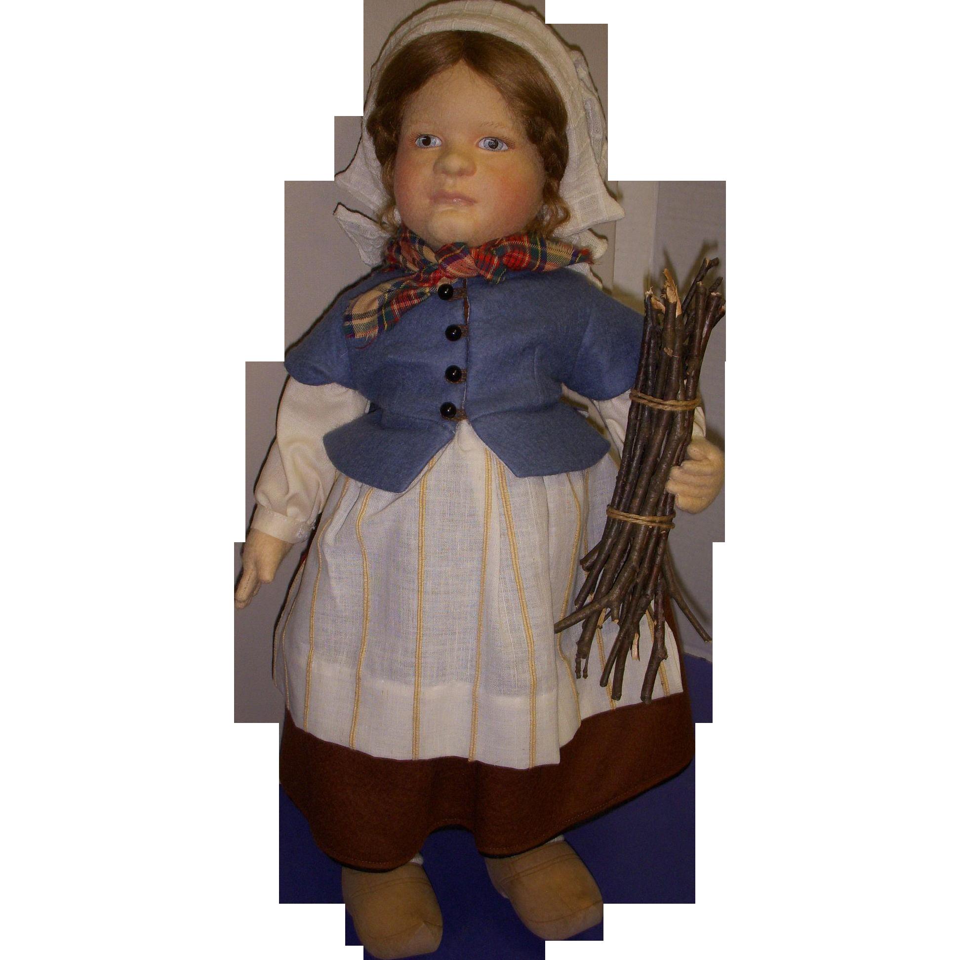 "MIB R. John Wright ""Gretel Brinker"" from the Storybook Doll Series!"