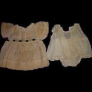 Vintage 1940's Alexander Original Dionne Dress & Slip/Pantie Set!