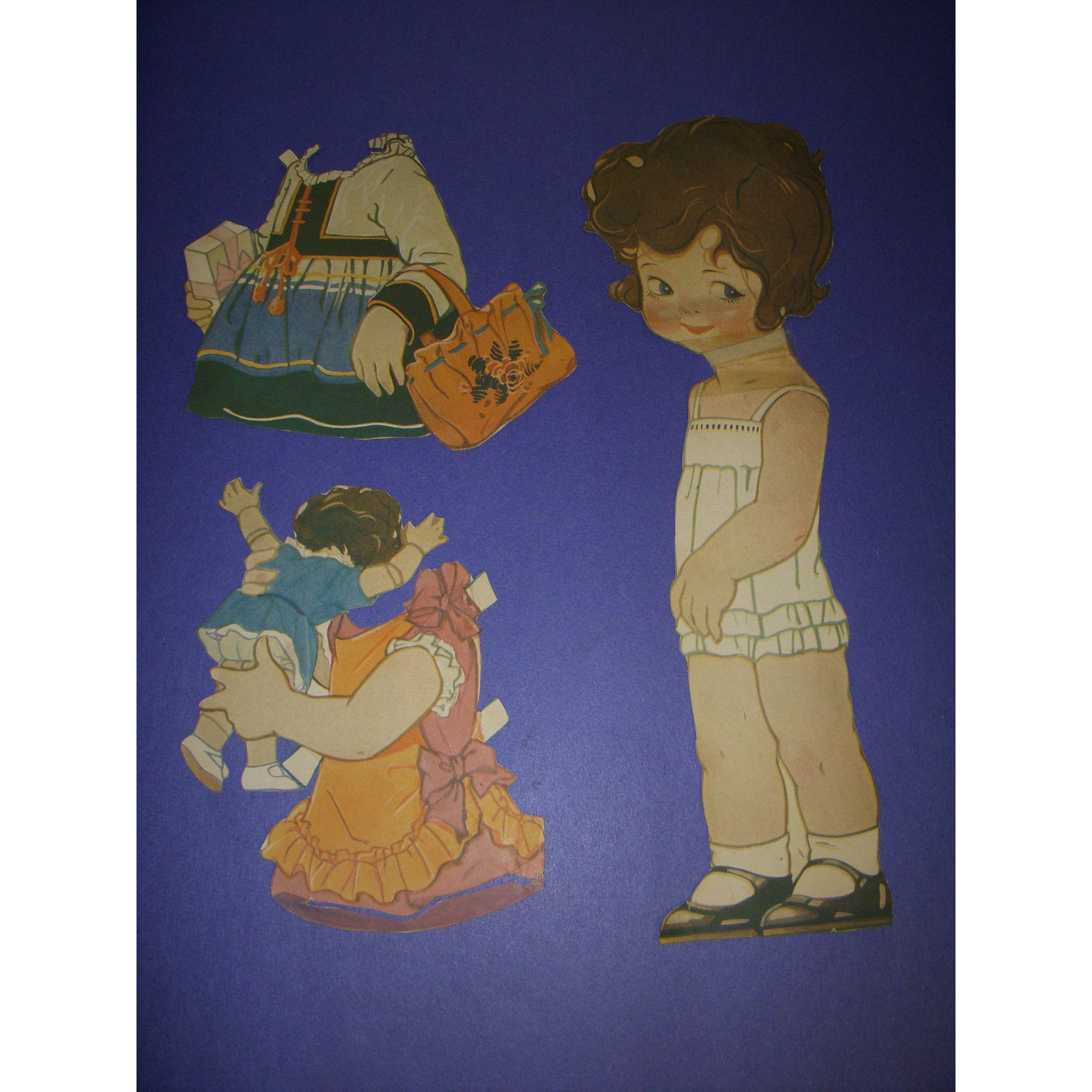 "1926 Vintage Paper Doll Sheet ""Peggy Pryde's Sister Patty"""