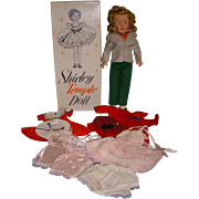 Vintage 1950s MIB Ideal Shirley Temple Doll with Wardrobe!