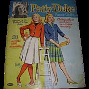 """1964 Vintage """"Patty Duke"""" Paper Doll Set"""