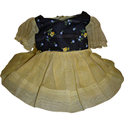Vintage 1950s Ideal Betsy McCall Doll Dress