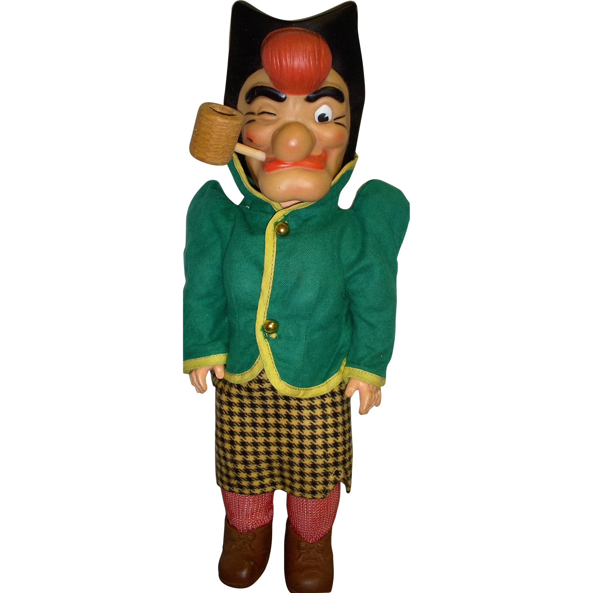 1950s Mammy Yokum Little Abner Dog Patch Baby Barry Doll