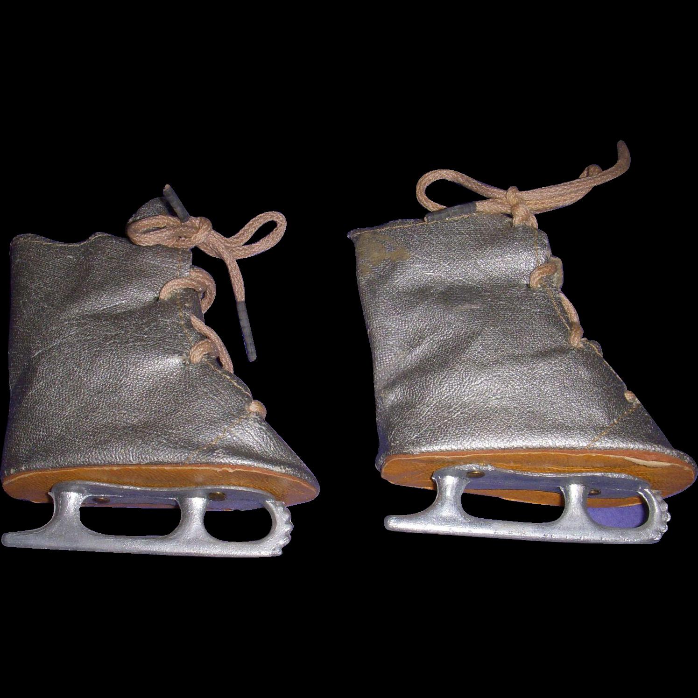 Vintage Doll Ice Skates
