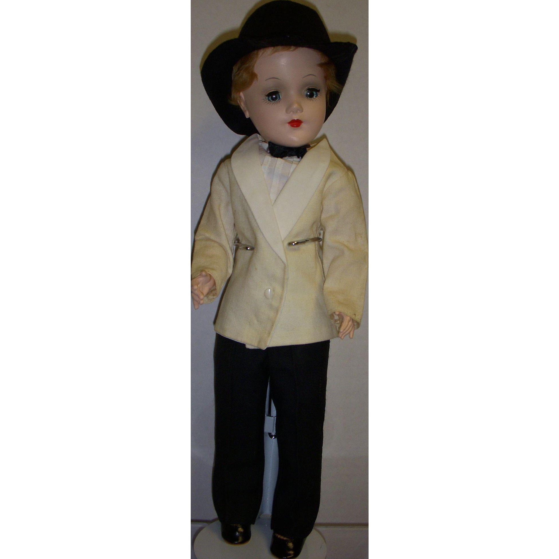 Vintage 1950s Mary Hoyer Boy Doll