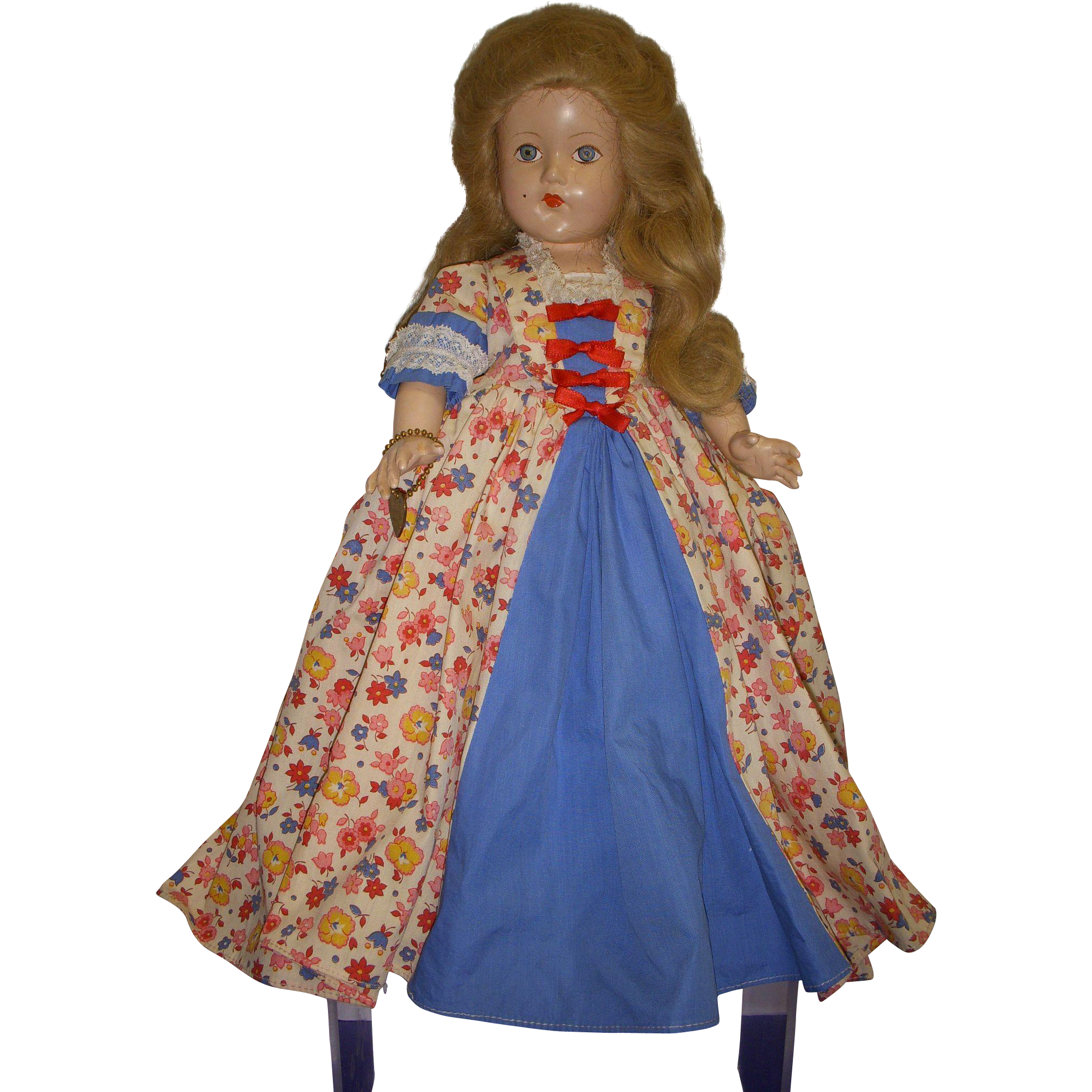 Vintage Effanbee Historical Doll All Original