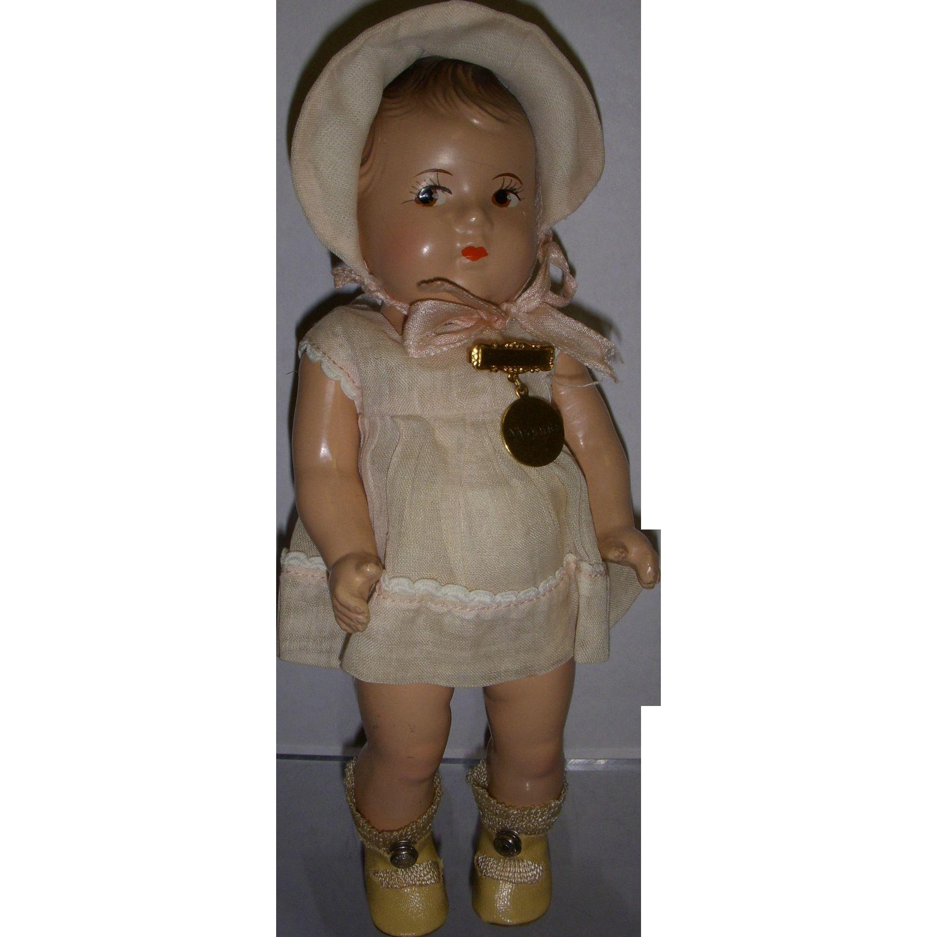 Vintage 1930s Alexander Dionne Toddler All Original