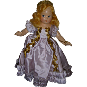 "Vintage Madame Alexander Tiny Betty ""Fairy Princess"" Doll All Original"