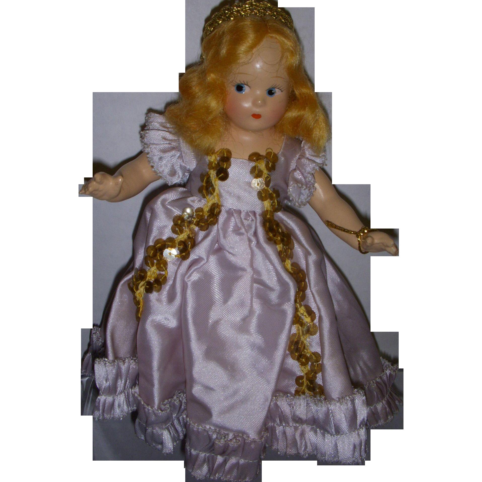 "Vintage Madame Alexander Tiny Betty ""Fairy Princess"" Doll All Original"