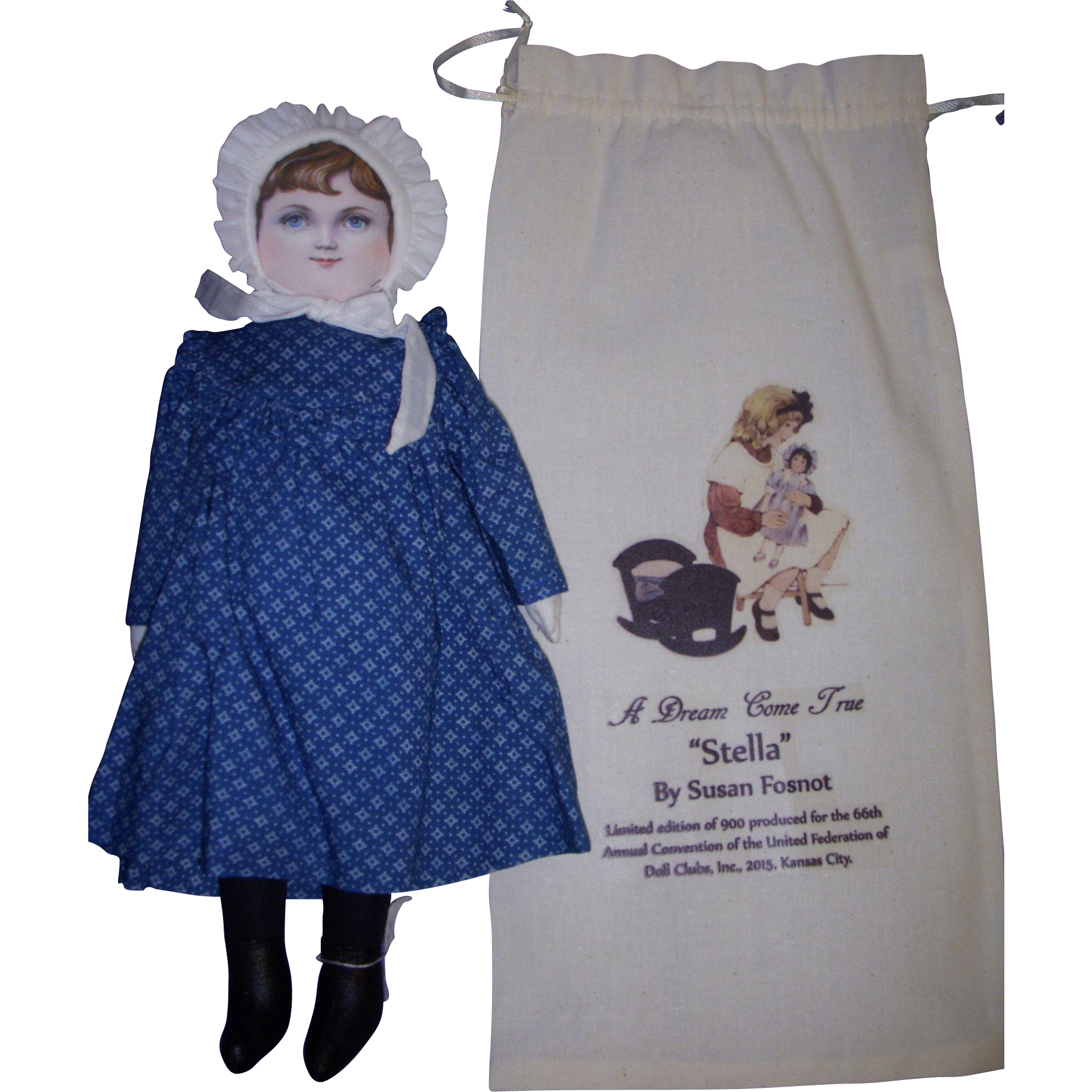 "UFDC ""Stella"" Doll by Susan Fosnot All Original!"