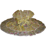 """Vintage Tagged Terri Lee """"Garden Party""""Dress"""