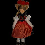 Vintage Erna Meyer German Dollhouse Doll