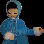 Vintage German BAPS Rare Pajama Doll