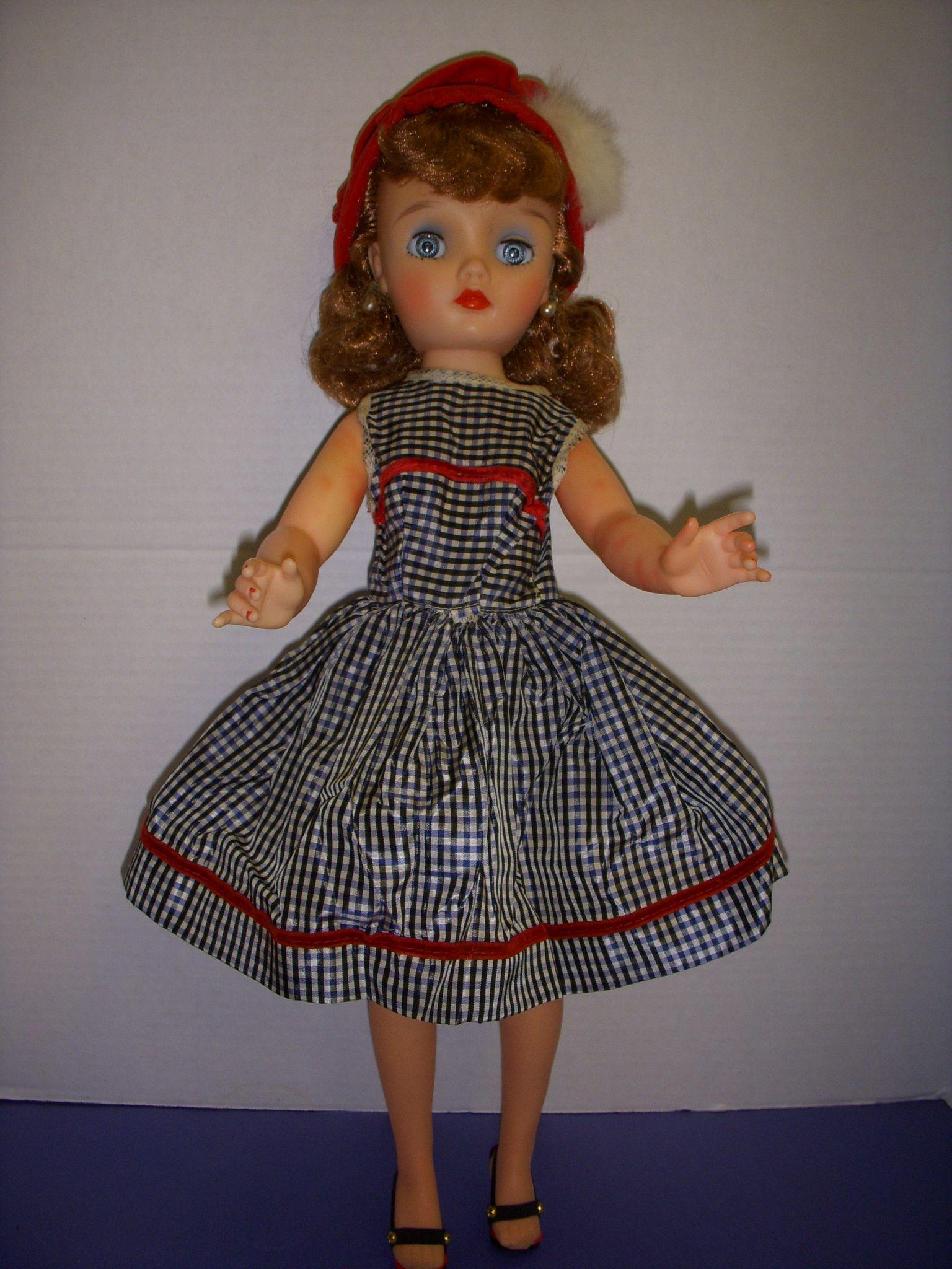 Vintage 1950s 19 Quot Eegee Fashion Doll All Original From