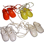 4 Pairs of Ideal Crissy Family Shoes