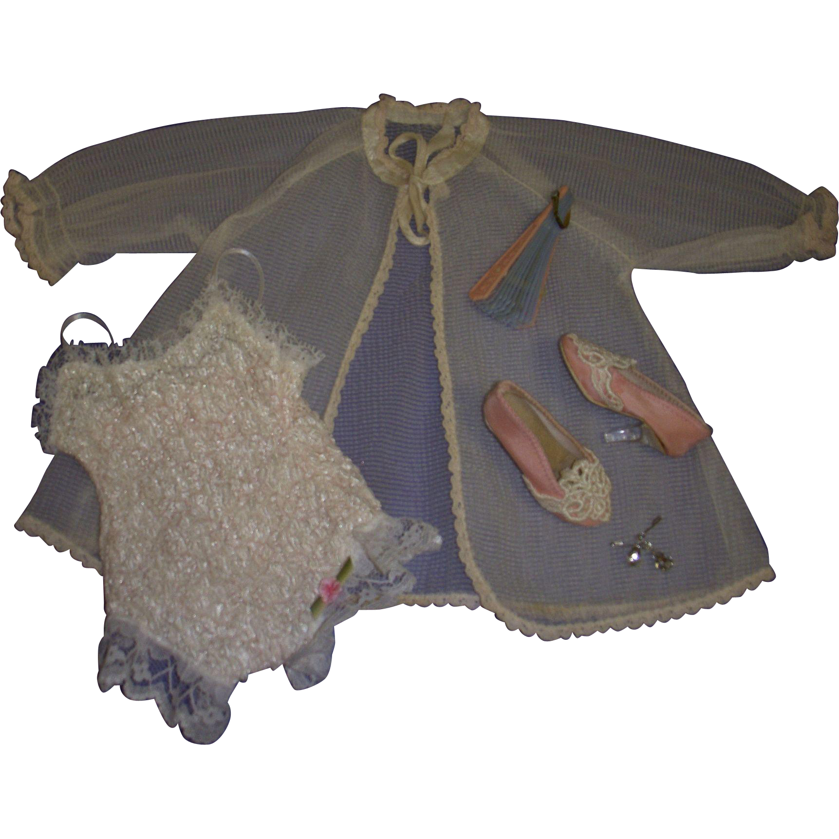 Retro Cissy Chemise Set With Accessories Custom Made
