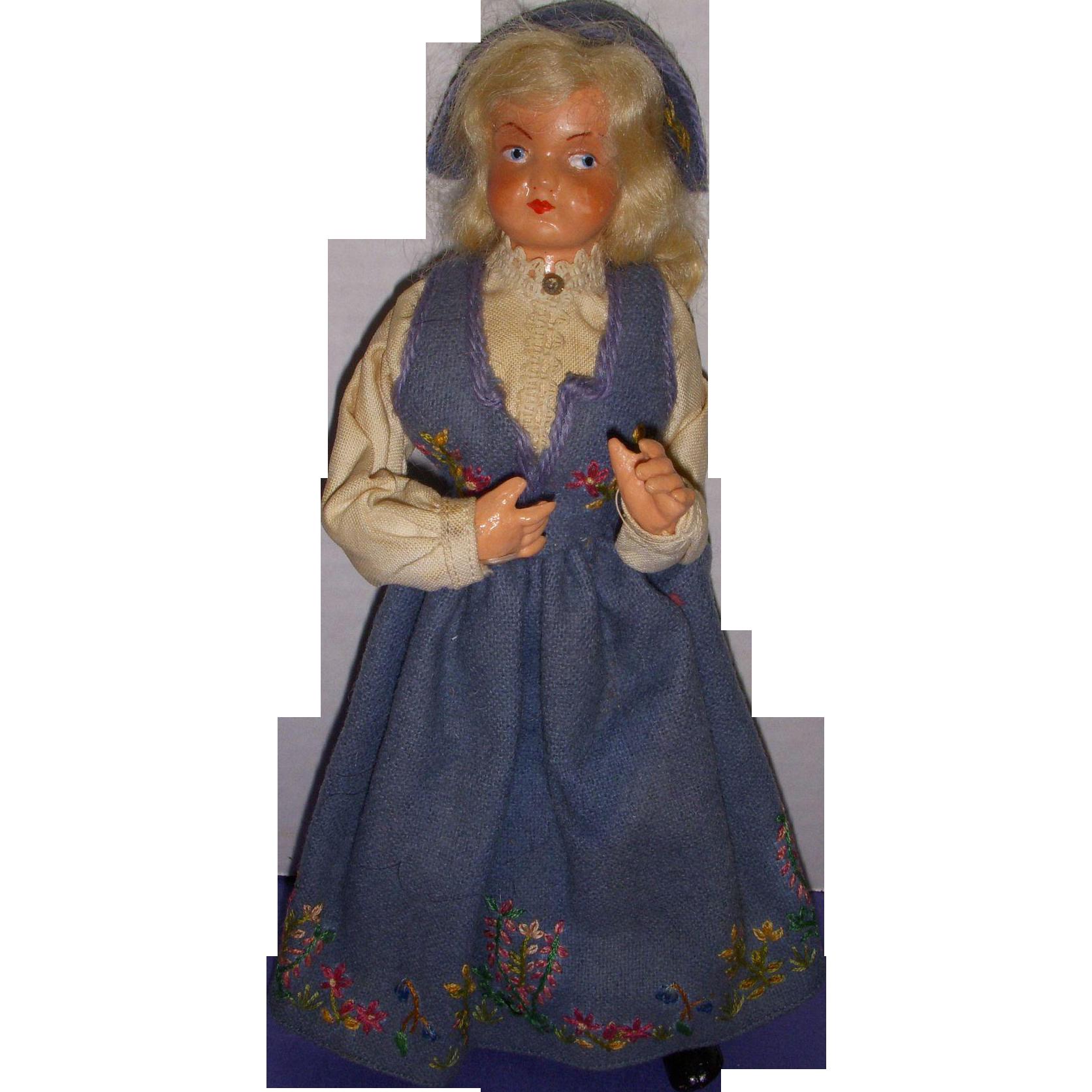 Vintage Norwegian Hilda Ege Doll
