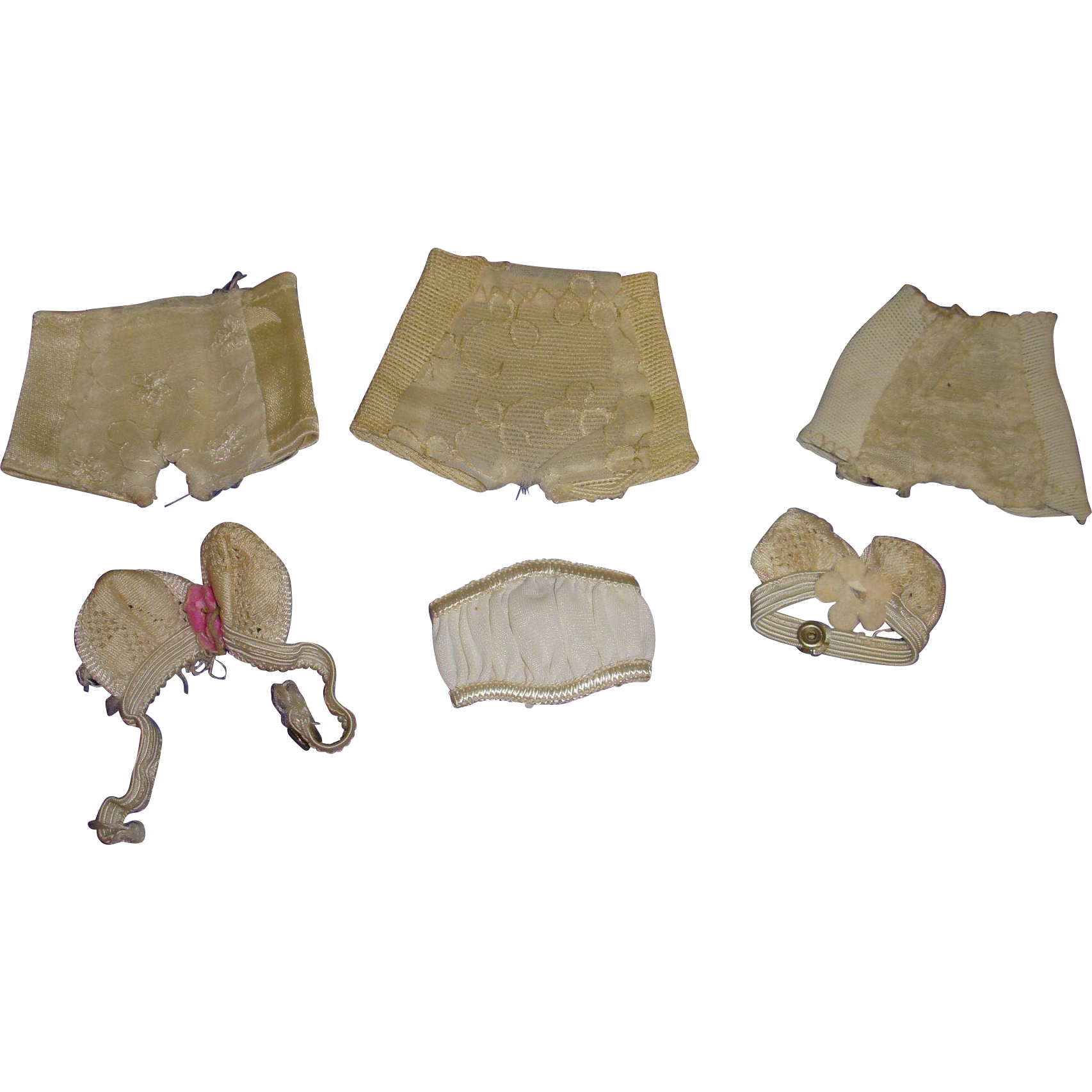 Vintage Lot of 1950s Fashion Doll Lingerie