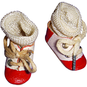 Vintage 1950s Mary Hoyer Doll Shoes and Socks