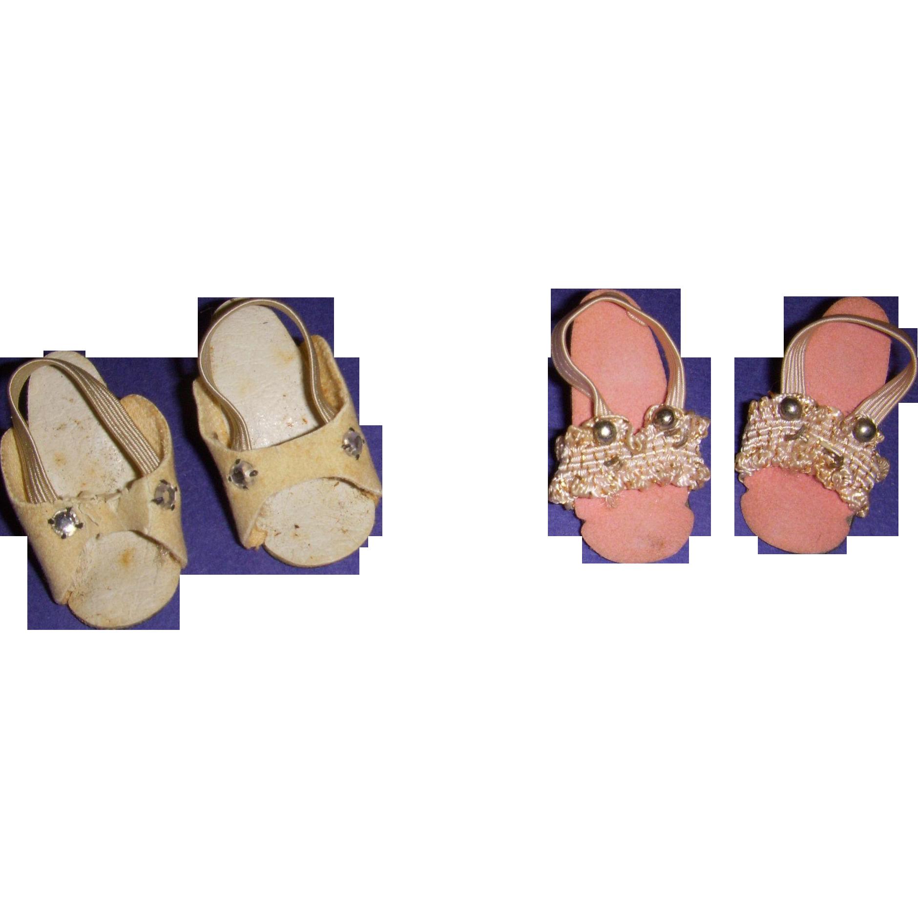 Vintage 1950s Fashion Doll High Heels