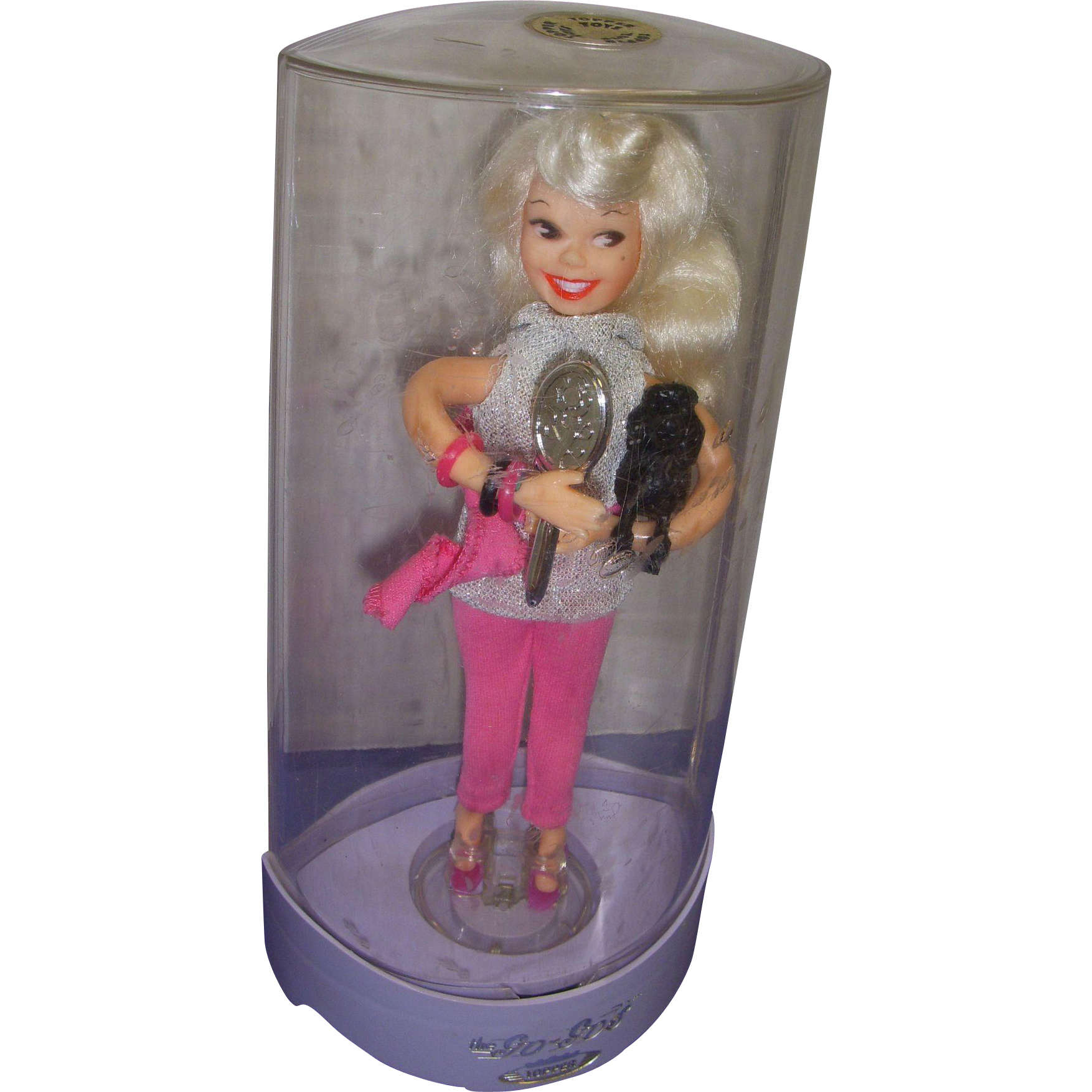Vintage Go-Go Doll in Original Dome 1960s