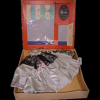 1950s MIB Ideal Little Miss Revlon Doll Gown Set