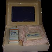 1950s Vogue Ginnette Bath Set Boxed
