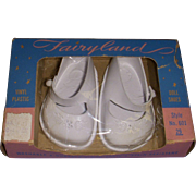 Vintage MIB 1950s Fairyland Doll Shoes