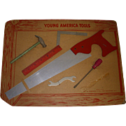 Vintage Young American Tool Set