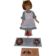 "UFDC ""Kindred Spirits Emily"" Convention Artist Doll by Heather Maciak"