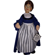Vintage English Old Cottage Doll