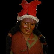 "Vintage 16"" Skookum Indian Doll"