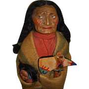 "Vintage 14"" Skookum Indian Doll"