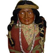 "Vintage 15 1/2"" Skookum Indian Doll"