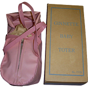 1950s Vogue Ginnette Baby Toter Boxed
