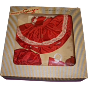1950s Ginger Boxed Dress Set