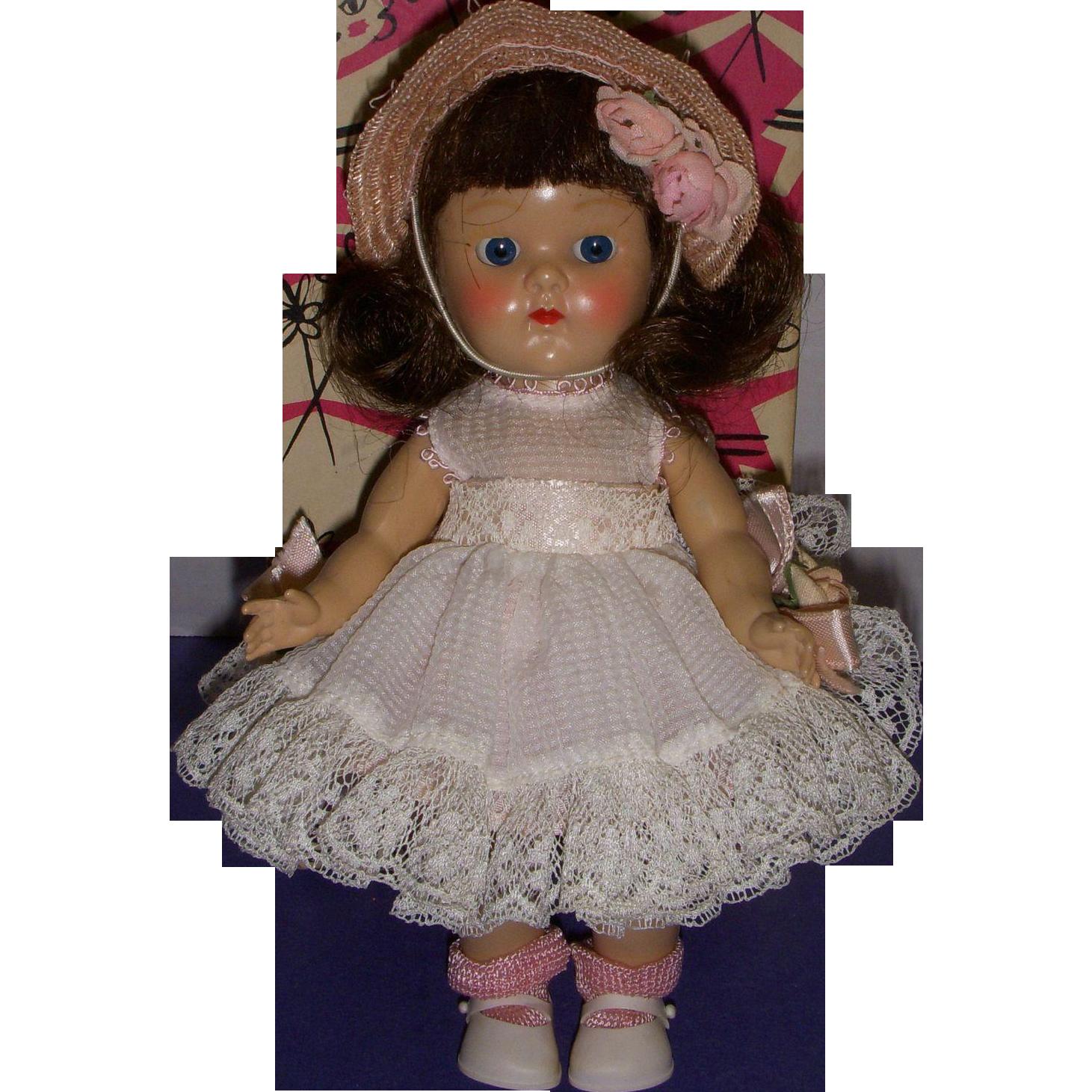 "Vogue 1950s Ginny ""Talon Zipper Series"" Doll in Original Box"