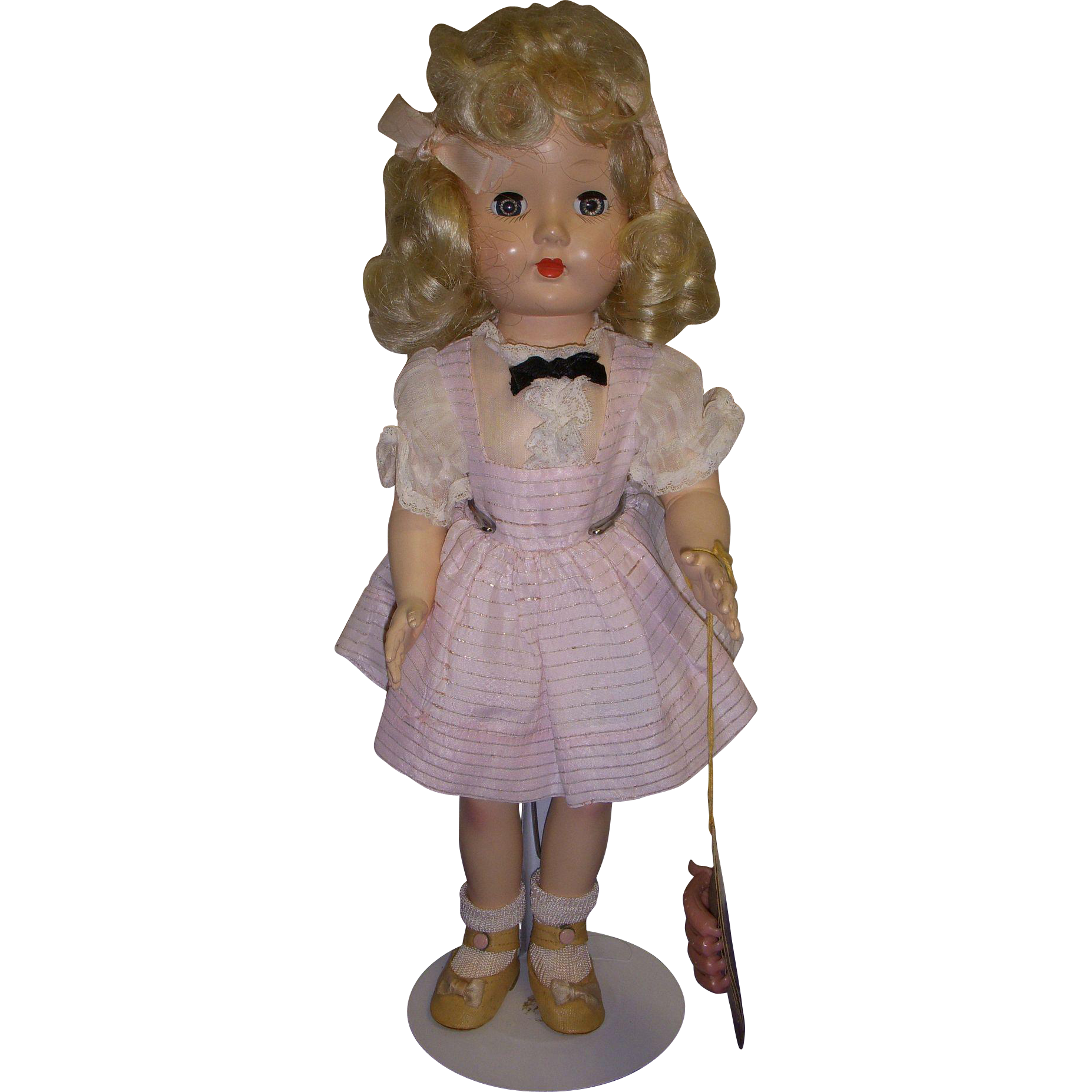 "Vintage Effanbee 1950s ""Honey"" Doll All Original"