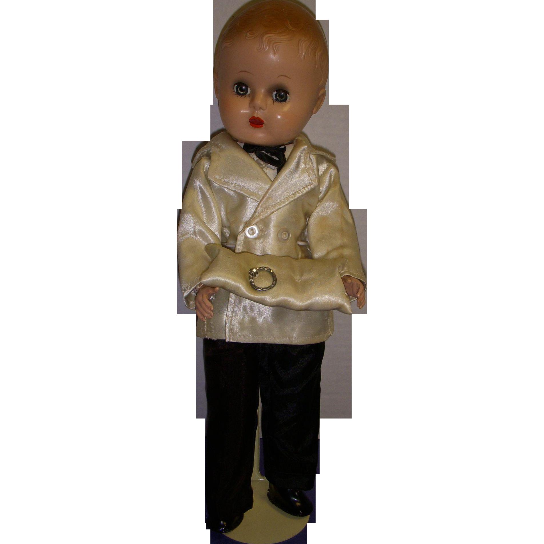 Vintage Hard Plastic Doll 67