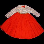 Vintage 1950s Alexander Cissy Tagged Skirt Set