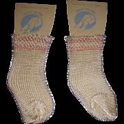Vintage MIP Rayon Socks
