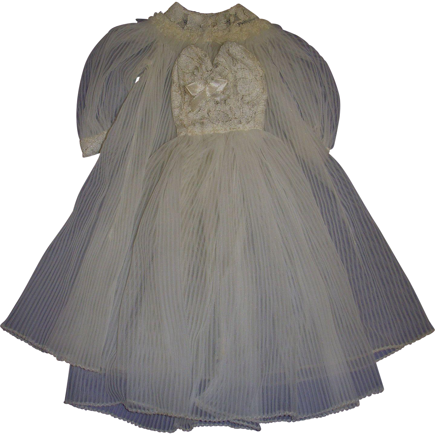 Vintage Tagged Mary Hoyer  Peignoir Set