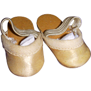 Vintage 1950s Mary Hoyer Doll Slippers